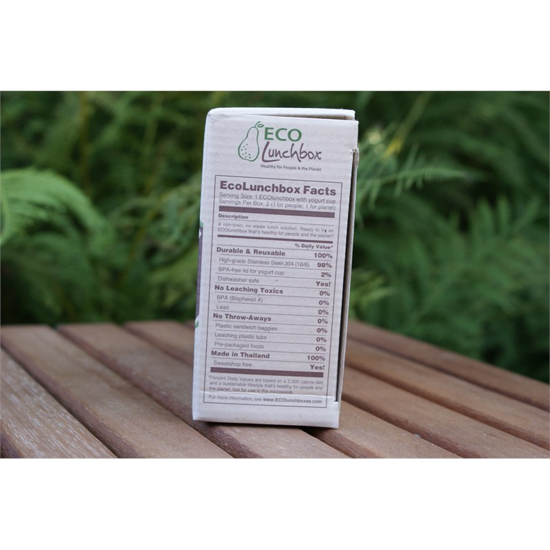 Ingrediënten Eco Lunchbox set