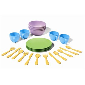 Kinderservies van gerecyclede melkflessen Green Toys