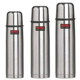 RVS Thermosfles met bekertje tot 1liter Thermos