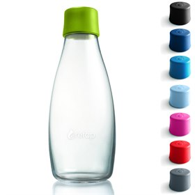 Waterfles duurzaam glas 500ml Retap Original