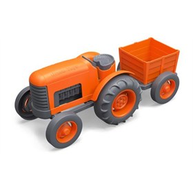 Tractor van gerecycled materiaal Green Toys
