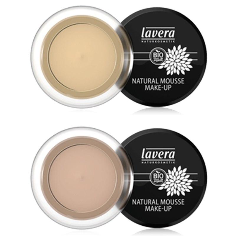Mousse make-up Almond Lavera natuurlijke ingrediënten ... Almond Kleur
