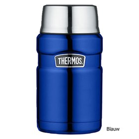 Lekdichte King thermos food jar 710 ml Blauw Thermos