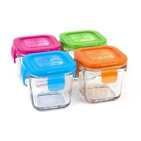 Wean Cube 120 ml glas set van vier