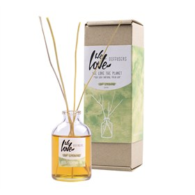 Natuurlijke essentiele olie met geurstokjes 50 ml - Light Lemongrass