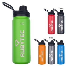 RVS Cool Drink Bottle 550 ml Rubytec