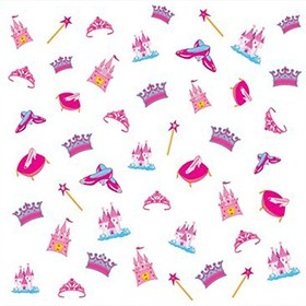 Nail Art Stickers 3-D Princess Piggy Paint