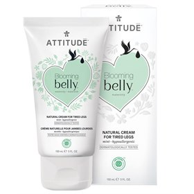 Vermoeide benen Creme Blooming Belly Natural Attitude