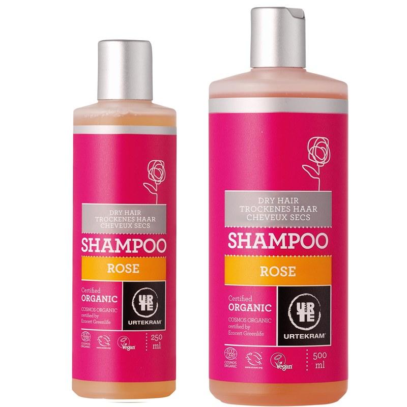 rozen shampoo droog haar urtekram biologisch. Black Bedroom Furniture Sets. Home Design Ideas