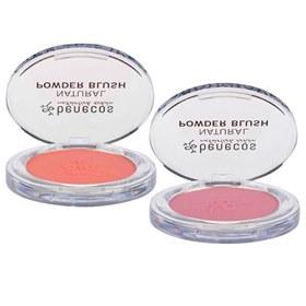 Natuurlijke compact blush poeder