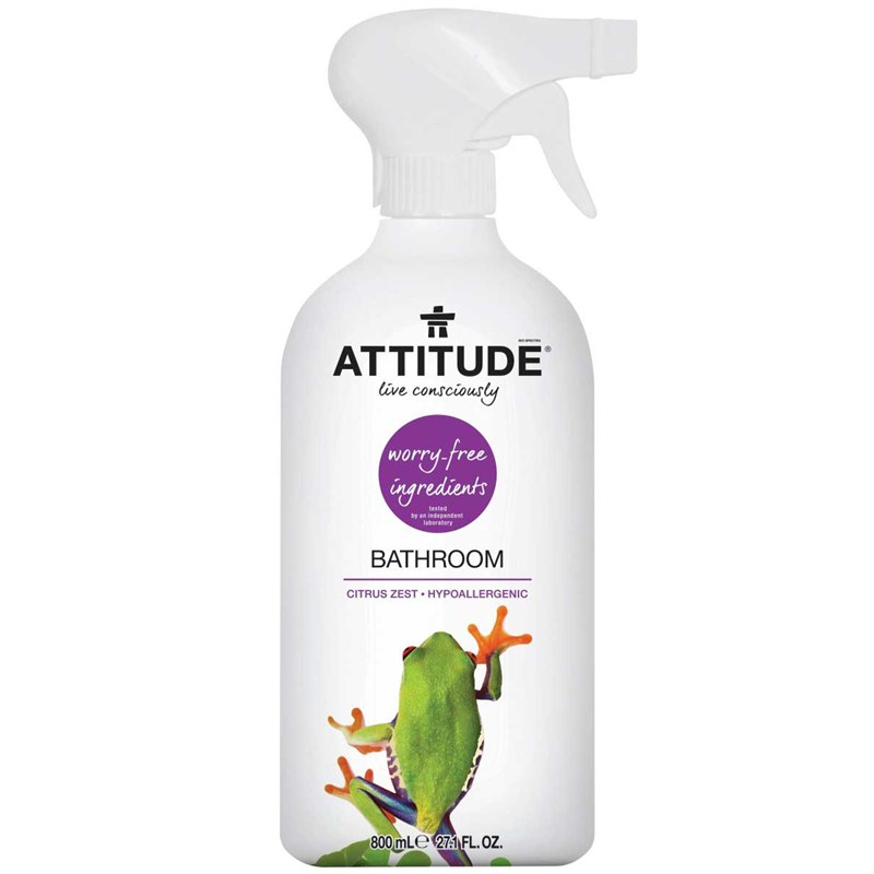 Eco badkamerreiniger spray Attitude | GreenJump.nl