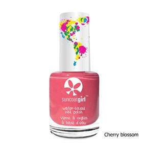 Veilige Eco kindernagellak Peel-Off Cherry Blossom Suncoat Girl