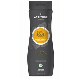 2-in-1 shampoo en body wash sport man Attitude