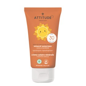 Zonnebrand Little Ones SPF30 nano-vrij Vanille 150 ml Attitude