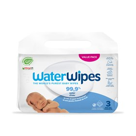 Waterwipes billendoekjes water en fruitextract 180 WaterWipes