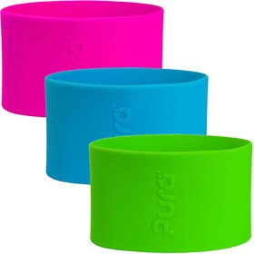 Silicone sleeve voor Pura drinkbekers 150 ml Pura